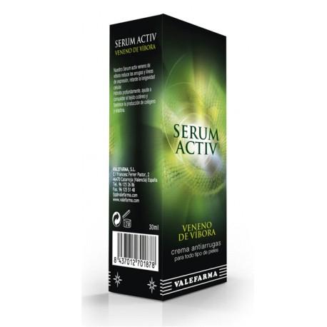Serum facial de veneno de víbora